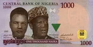 1000 Naira Note 1